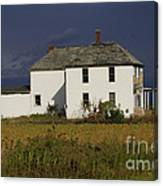 Forgotten Farm House Canvas Print