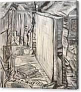 Forgotten Halls Canvas Print
