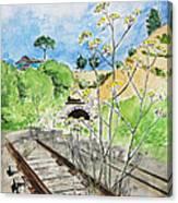 Forgotten Railway Canvas Print