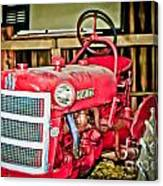 Forgotten Tractor Canvas Print