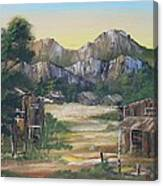 Forgotten Village Canvas Print
