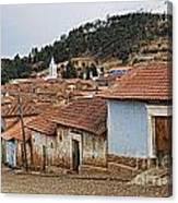 forgotten village Totora Canvas Print