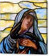 Forlorn Mary Canvas Print