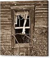 Forlorn Window Canvas Print