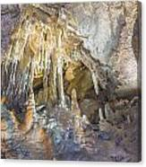 Formations In Mammoth Canvas Print