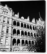 former royal waterloo hospital for children now dormitories for university of notre dame London Engl Canvas Print