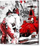 Formula 1 Bis Canvas Print