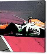 Formula 1 Grand Prix Crash Canvas Print