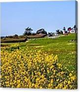 Fort Casey Spring Canvas Print