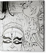 Cochin Graffiti Canvas Print