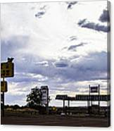 Fort Courage Trading Post Canvas Print