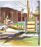Fort Davidson Memorial Pilot Knob Missouri Canvas Print