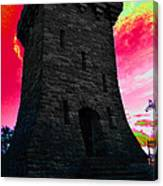 Fort Ethan Allen Abstract Canvas Print