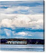Fort Gorges Canvas Print