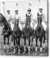 Fort Hamilton Polo Team Canvas Print