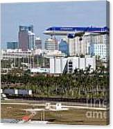 Fort Lauderdale Hollywood International Airport Canvas Print