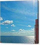 Fort Lauderdale Ocean View Canvas Print