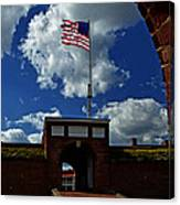 Fort Mchenry Main Gate Canvas Print