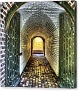 Fort Moultrie Door Canvas Print