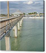Fort Myers Beach Canvas Print