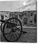 Fort Pike Cannon Canvas Print