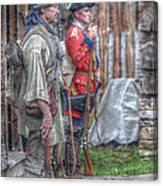 Fort Pitt Sentry's Canvas Print