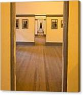 Fort Point - Officer's Floor Canvas Print
