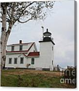 Fort Point Lighthouse 9239 Canvas Print