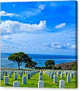 Fort Rosecrans National Cemetery 2 Canvas Print