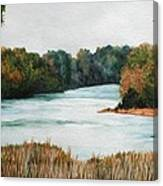 Fort Toulouse Coosa Tallapoosa River Canvas Print