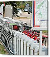 Fort Worth B Cycle 2 Canvas Print