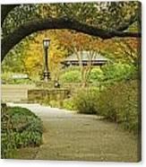 Fort Worth Japanese Gardens-040 Canvas Print