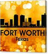 Fort Worth Tx 3 Canvas Print