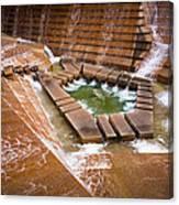 Fort Worth Water Gardens Canvas Print