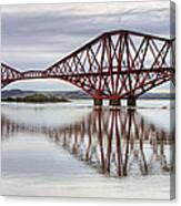 Forth Bridge Reflections Canvas Print