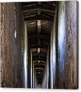Fortified Covered Walkway Canvas Print