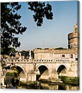 Fortress And Bridge Canvas Print