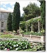 Fortress Garden  Villeneuve Les Avignon Canvas Print