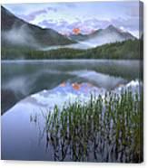 Fortress Mountain Alberta Canada Canvas Print