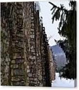Fortress Walls Canvas Print