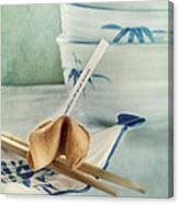 Fortune Cookie Canvas Print