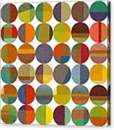 Forty Eight Circles 2.0 Canvas Print