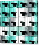 Forty Windows Canvas Print