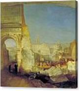 Forum Romanum Canvas Print