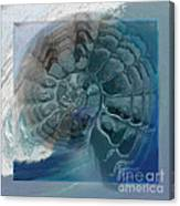 Fossil Ocean Canvas Print