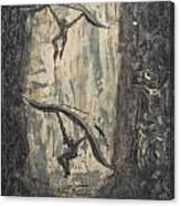 Fossils Of A Seemingly Productive Civilization Canvas Print