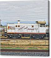 Foster Farms Locomotive Canvas Print