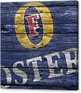 Fosters Canvas Print