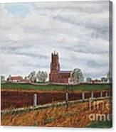 Fotheringhay Canvas Print