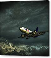 Foul Weather Fedex Canvas Print